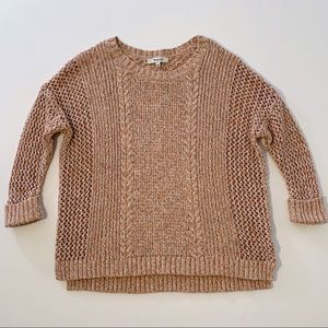 Madewell Marbled Plaza Pullover Sweater